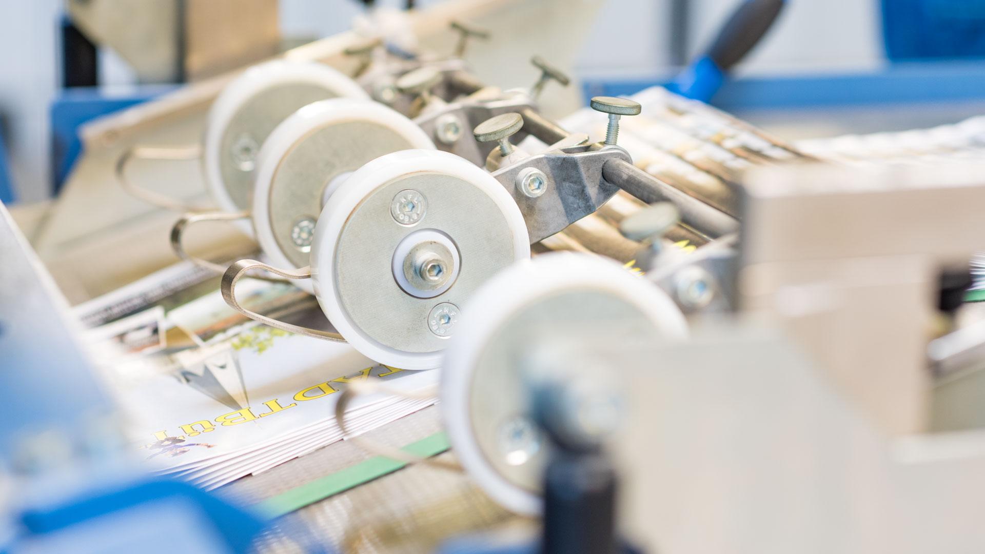 Druckerei Grunenberg Falzung
