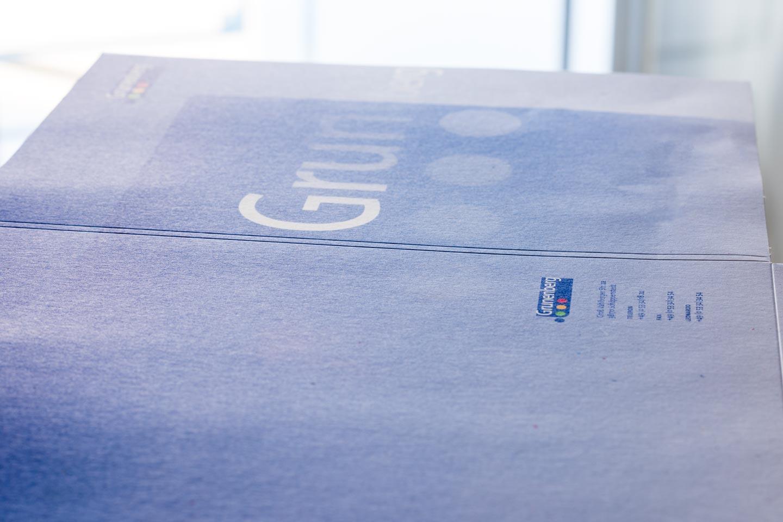 Druckerei Grunenberg Folder