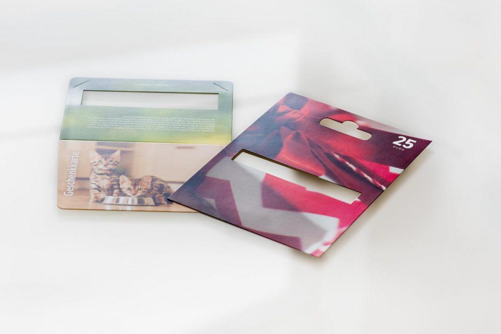 Druckerei Grunenberg Geschenkkarte