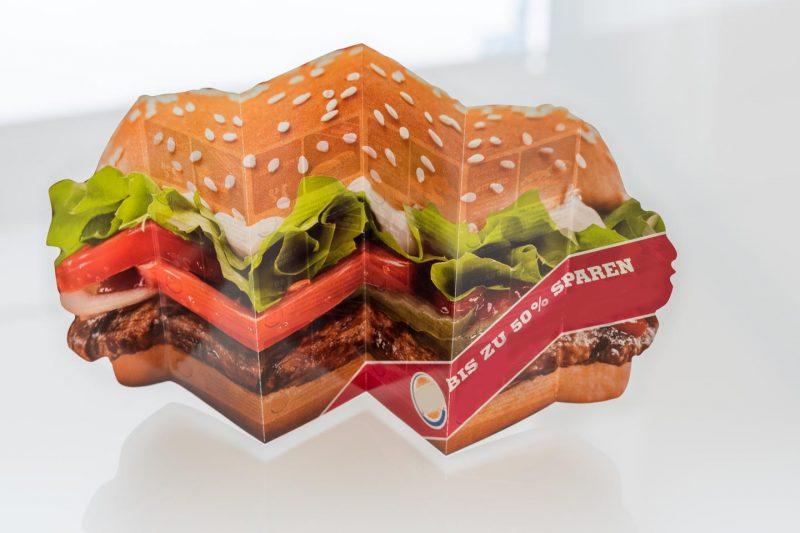 Druckerei Grunenberg Stanzung Falzung Burger